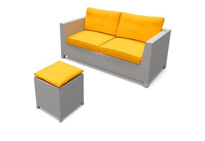 For outdoor furniture